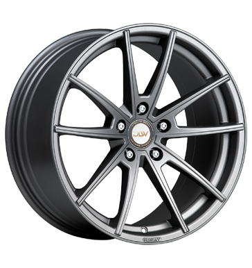 pneu 5x112 et45 deluxe wheels manay k grau anthrazit anthrazit matt. Black Bedroom Furniture Sets. Home Design Ideas